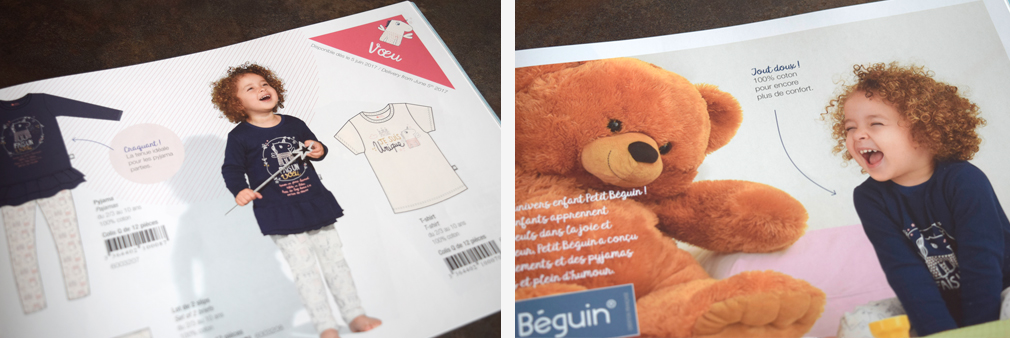 Catalogue petit Béguin collection automne - hiver 2017