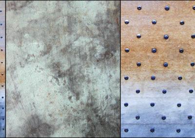 Courtincom - photographie porte en bois et métal