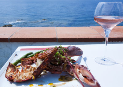 Reportage photo-plat de homard-La Reserve__8095